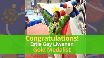 Ifugao Judoka Figther Estie Gay Liwanen Won Gold In The