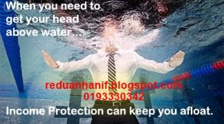 Lindungi pendapatan anda dengan coverage minimum RM500,000. Hubungi AIA Takaful Agen 0193330342