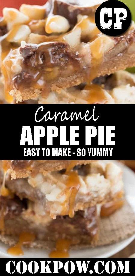 Caramel #ApplePie Magic Bars