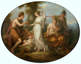 Angelica Kauffman, The Judgement of Paris c. 1770-1797