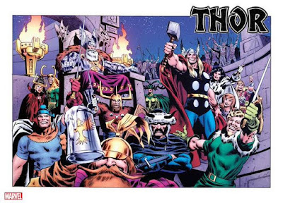 Thor Variant Cover