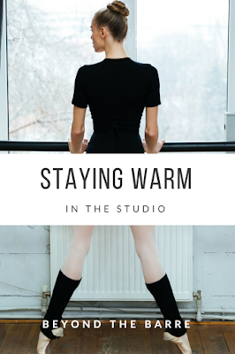 Staying Warm in the Studio