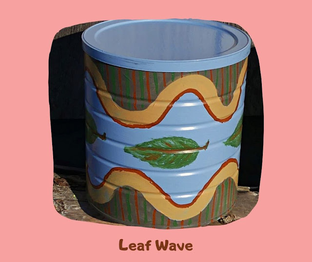 Leaf Wave Pot by Minaz Jantz