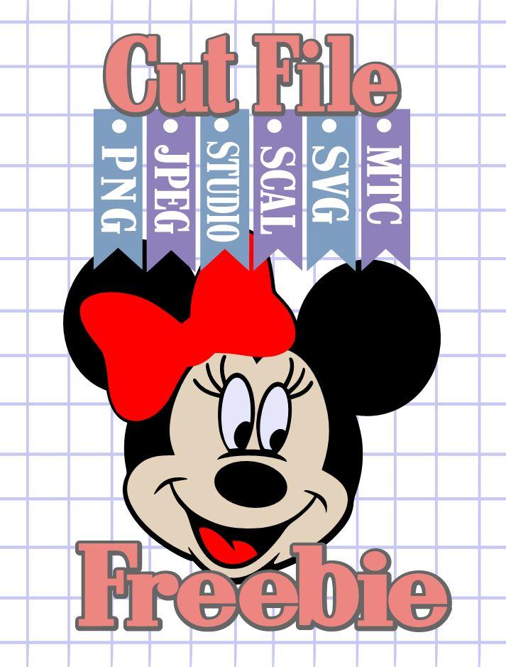 Download The Scrapoholic : Free MTC & SVG Cut Files! DiSNEY Minnie #03