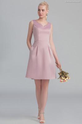 Vestidos para Dama de Honor Cortos