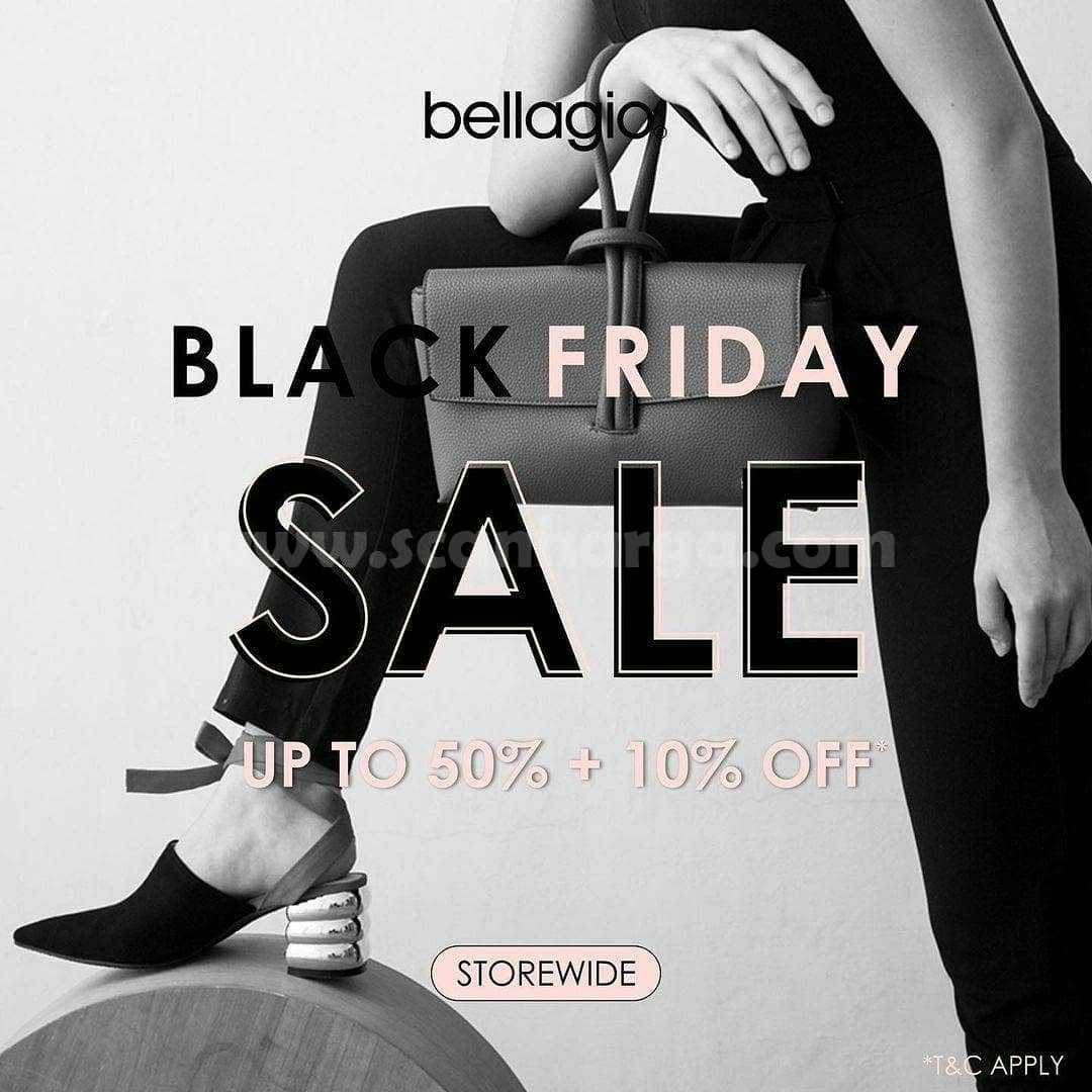 Bellagio Promo Black Friday Sale Up To 50% Off + 10% Off⁣
