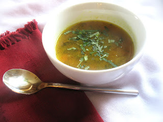 Tamarind Broth with Toor Dal