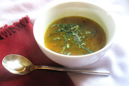 Tamarind Broth with Puréed Toor Dal and Spices