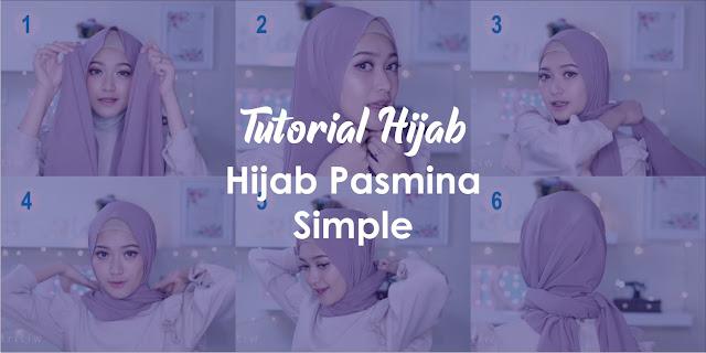 5+ Tutorial Hijab Pasmina Simple dan Mudah [TERBARU] 2019