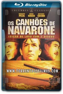 Os Canhões de Navarone (1961) Torrent – BluRay 720p   1080p Dual Áudio 5.1