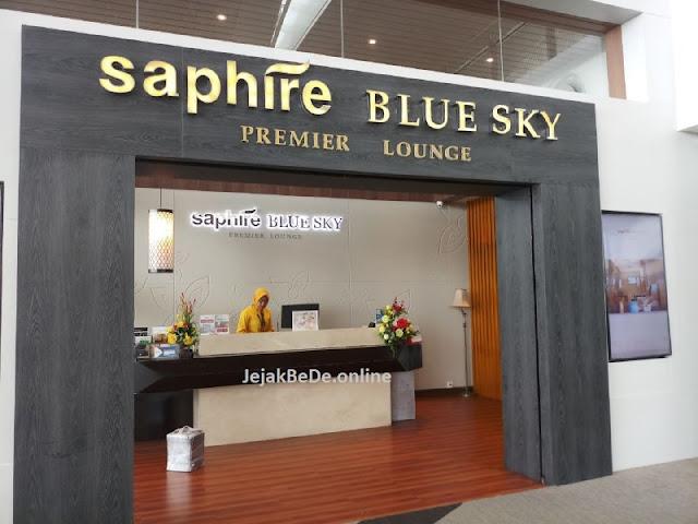 Saphire  BlueSky Premiere Lounge - Kartu Kredit BNI Garuda Platinum