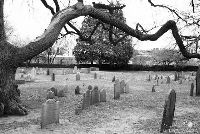 My Travel Background : Halloween à Salem - The Burying Point Cemetery, un cimetière effrayant !