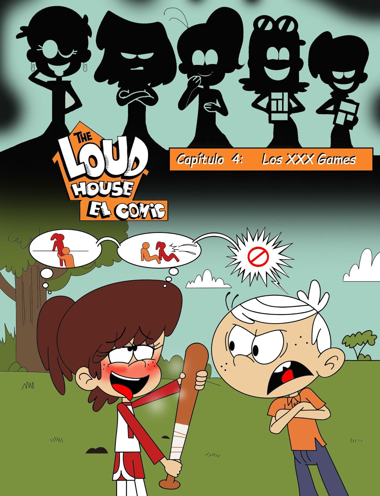 Hijo de Orca: The Loud House: El Comic 4.0 & 4.5