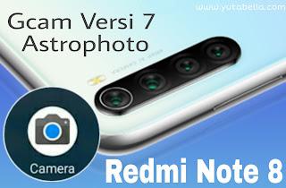 Install Gcam Redmi Note 8