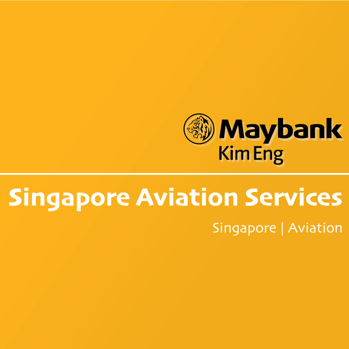Singapore Aviation Services - Maybank Kim Eng Research | SGinvestors.io