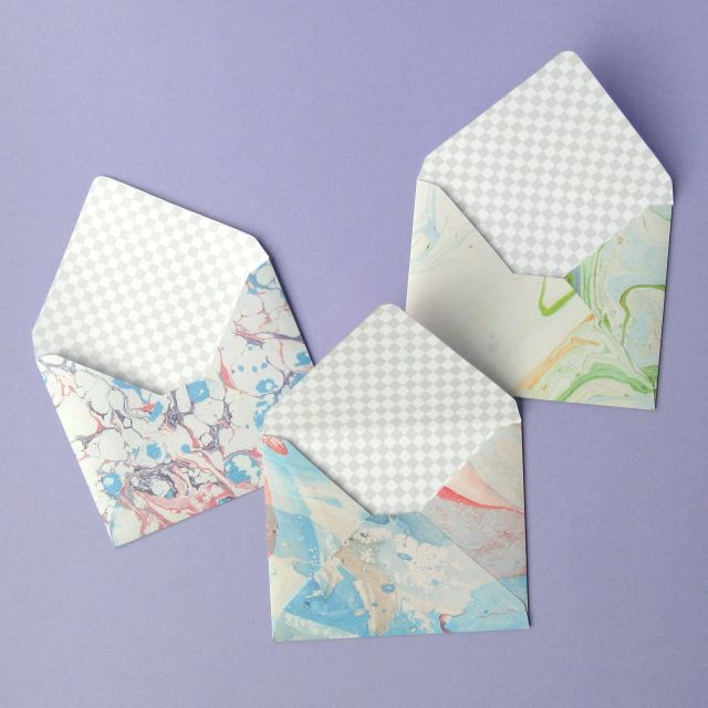 Make your own DIY envelopes from patterned paper