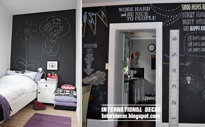 Black Children Room Paints Wall Decor Ideas Fr
