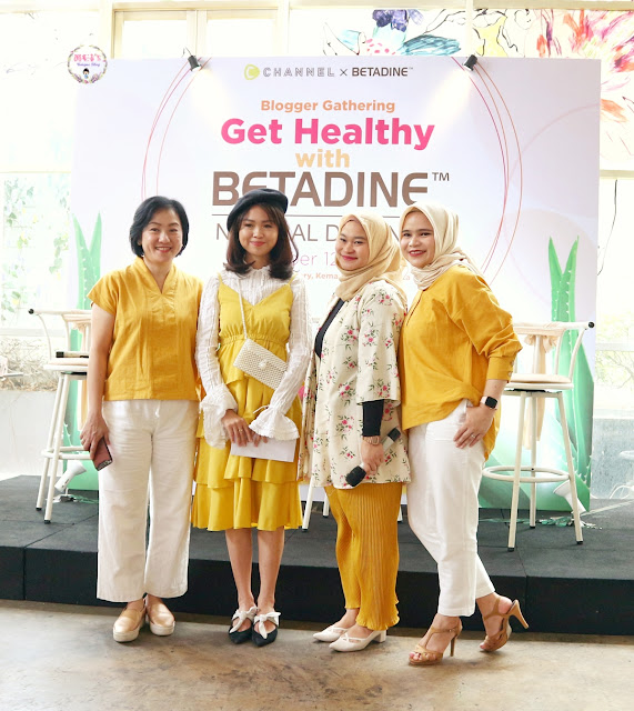 Betadine Natural Defense Launch Event Report