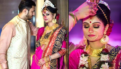 Dimpy-Ganguli-wedding-with-rohit-photos1
