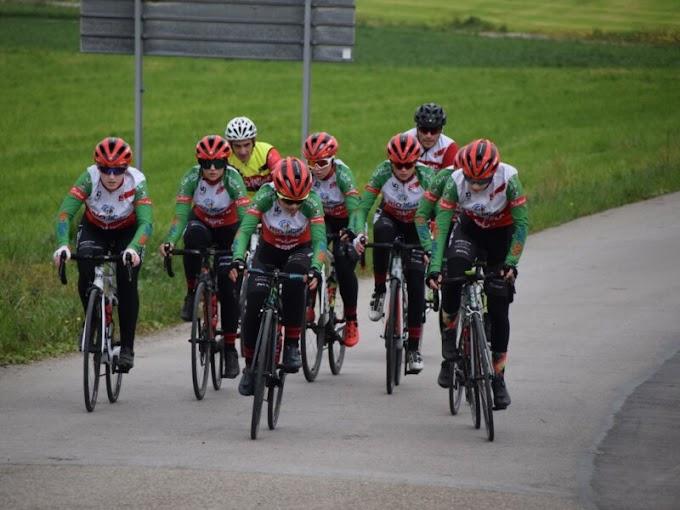 El Río Miera - Meruelo cadete está compitiendo en la Challenge Ciclista Cadete Provincia de Salamanca