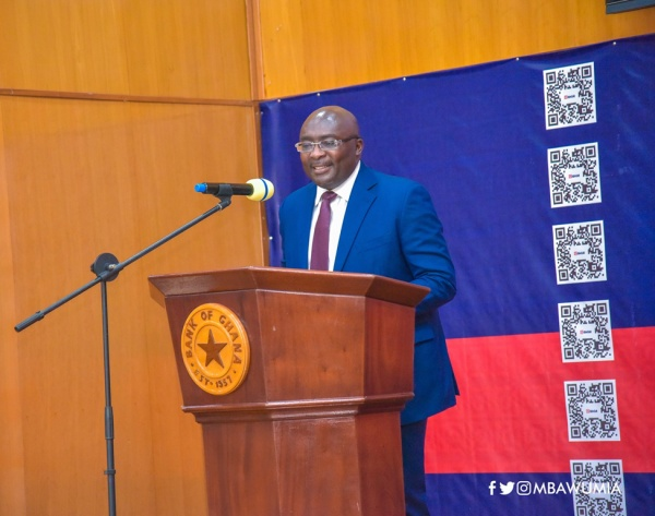 VP Bawumia Launches Ghana And Africa's First Universal QR Code