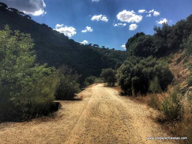 ruta para ir en bici en Madrid, Picadas