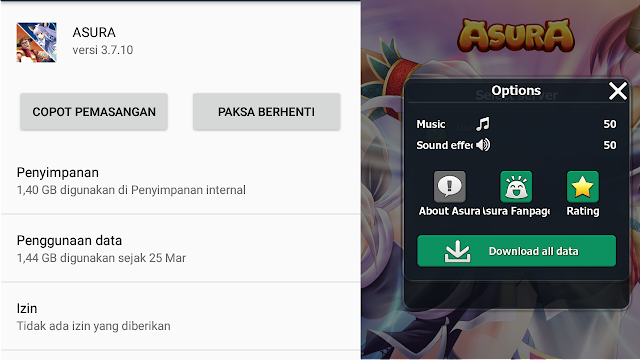 Berapa Full Data Game Android MMORPG Asura Online Mobile Indonesia