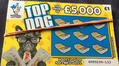 £1 Top Dog Scratchcard