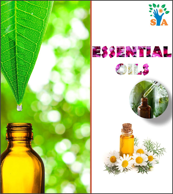 Herbal and essential oils and their medicinal applications