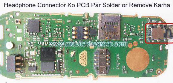 मोबाइल फोन रिपेयरिंग में Mobile Cell Phone PCB पर Headphone Connector को Solder और Remove करके मोबाइल फोन रिपेयर कैसे करें