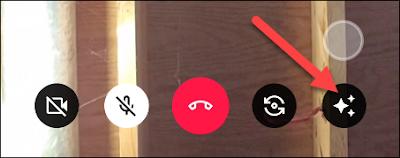 Menampilkan Layar Android pada Google Duo
