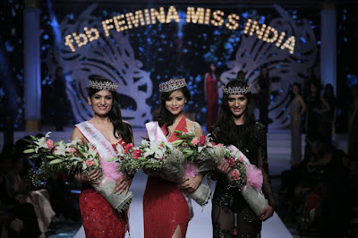 Priyadarshini Chatterjee crowned fbb Femina Miss India 2016