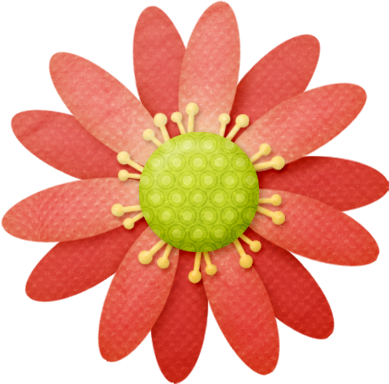 Flores del Clipart del Jardín de Juju.