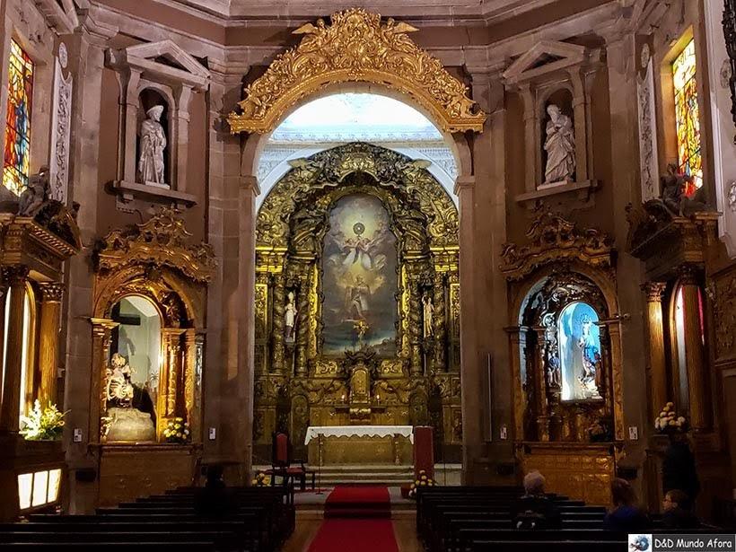 Interior da Igreja de Santo Ildefonso - O que fazer no Porto, Portugal