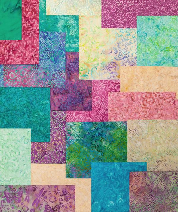 Island Batik Blossom fabrics | DevotedQuilter.com