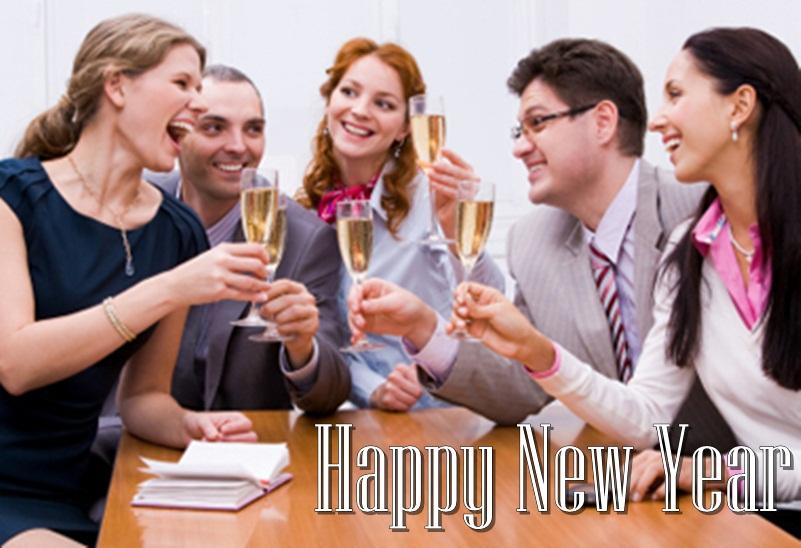 Happy New Year Celebration Image