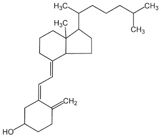 Structure of vitamin D