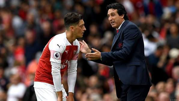Ozil Doesn't 'Deserve' To Be in Arsenal Team - Emery