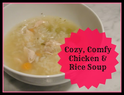 chicken and rice soup in bowl