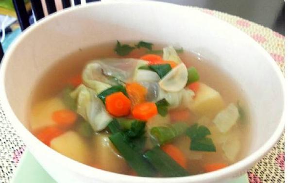 cara masak sup bening kampung