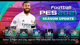 Download PES 2021 PPSSPP Android Update New Boots Best Camera PS5 & Full Latest Transfer