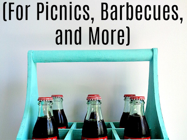DIY: 6 Pack Carry-All (for picnics, barbecues, and more)