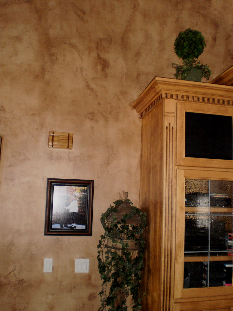 For Your Rooms Only Portfolio Textured Walls Then Painted