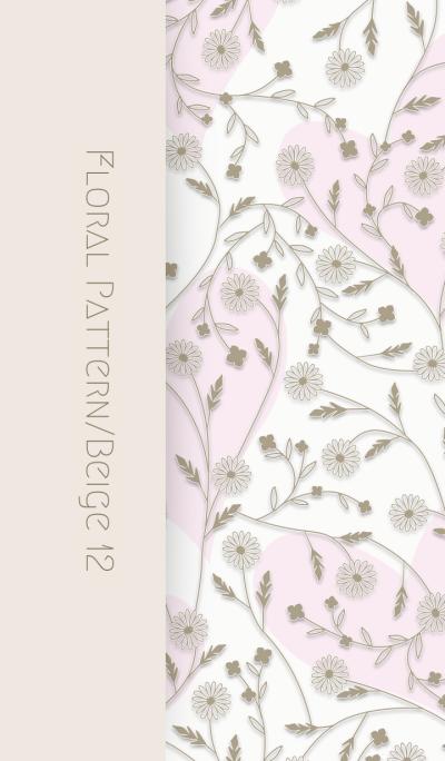 Floral Pattern[daisy]/Beige12