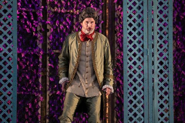 Mozart: Le nozze di Figaro - James Cleverton - Opera Holland Park 2021 [Photo Ali Wright)