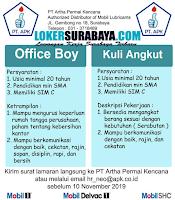 Bursa Kerja Surabaya Terbaru di PT. Artha Permai Kencana November 2019
