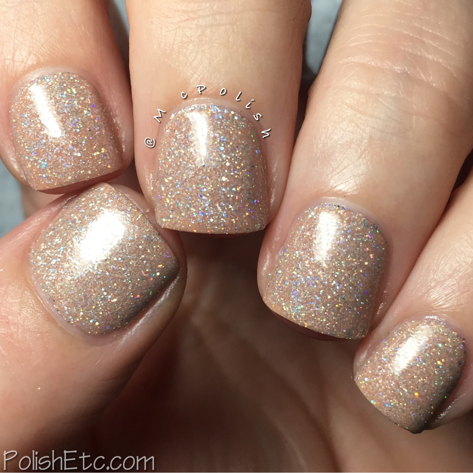 KBShimmer - Office Space Collection - McPolish - Hint of Manilla