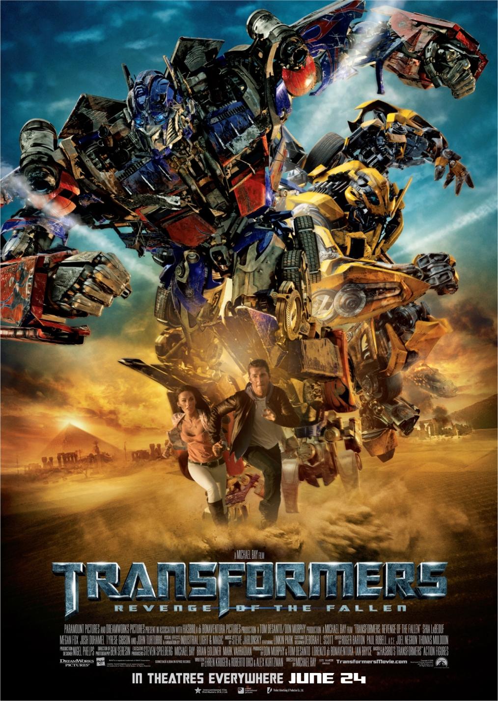 Transformers 2 : Revenge of the Fallen (2009)