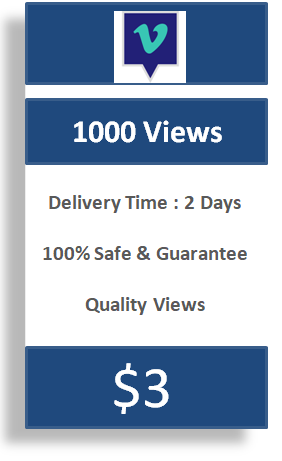 1000 Vimeo Views