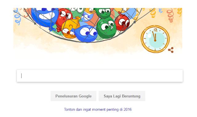 Balon Lucu Google